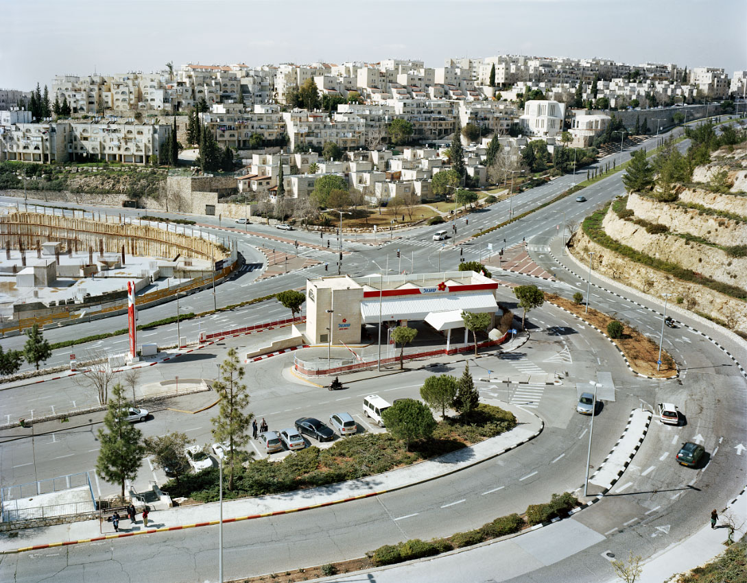 Ramot.  <br/>  Israeli settlement, Occupied East Jerusalem.