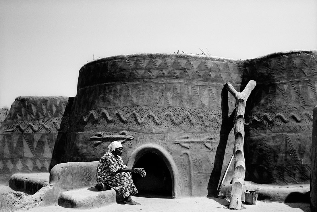 Woman's living quarters, Tangasoko, Burkina Faso