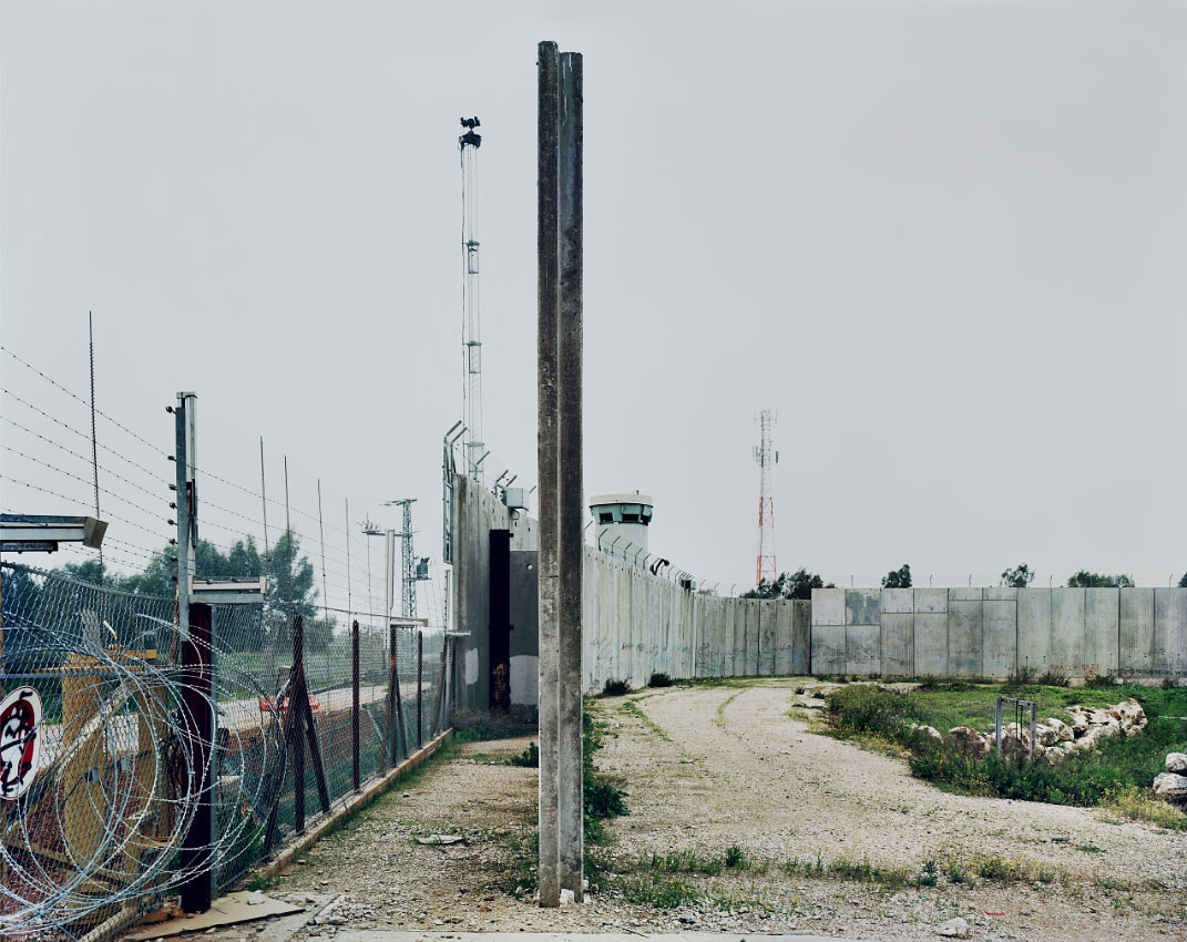 Separation Barrier, Qalqilya. <br/> West Bank, Area C – full Israeli control over security, planning and construction.