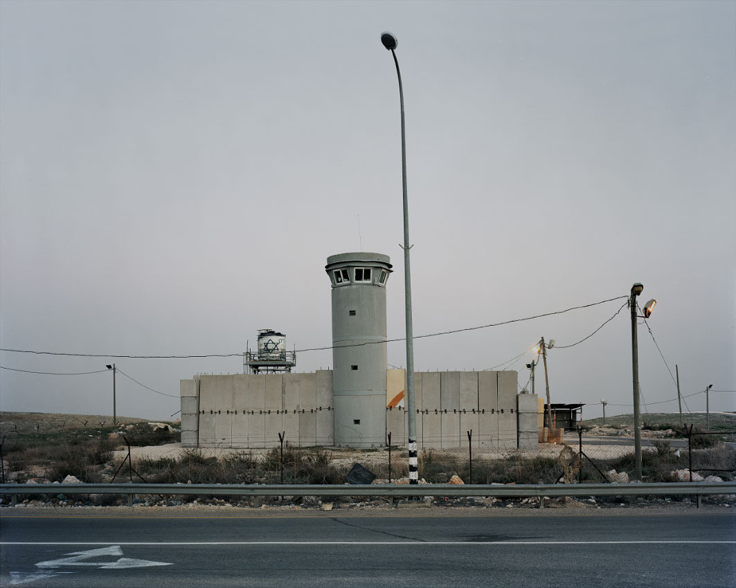 Internal check point, al-Taybeh.<br/> West Bank, Area C – full Israeli control over security, planning and construction.